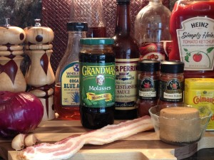 Bacon BBQ Sauce Ingredients