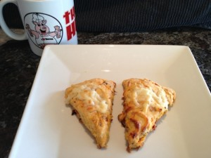 Bacon Hunter's Bacon & Sun Dried Tomato Scones
